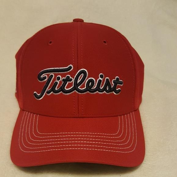 Titletist MLB St. Louis Cardinals fitted Cap. M 5ab1b438d39ca2ee2873afff 81f57de80